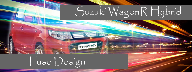 Suzuki WagonR Hybrid (Stingray) – Fuse design (Identifying and changing the blown fuse)