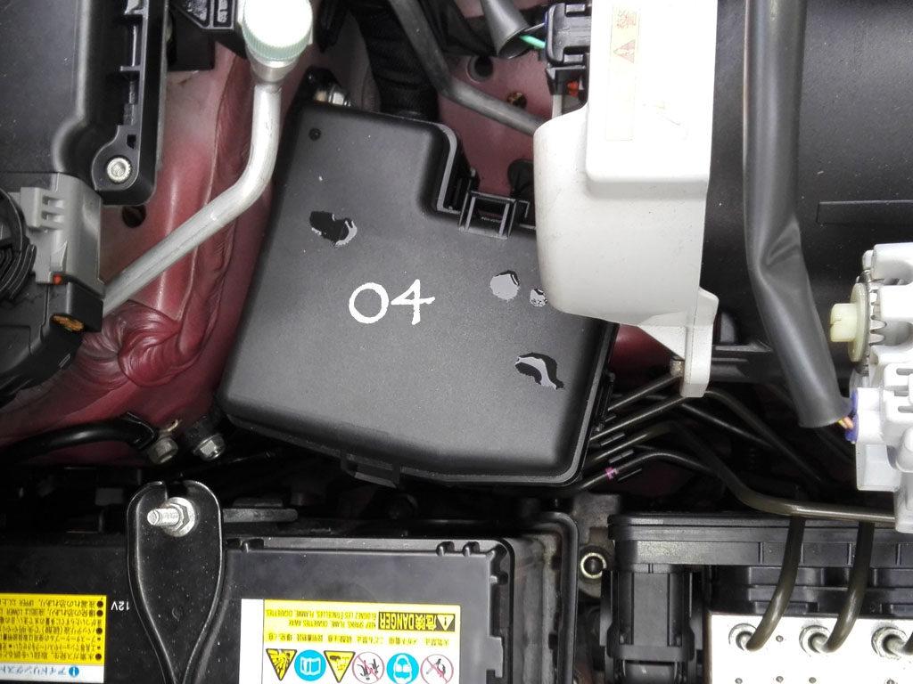 Suzuki WagonR Hybrid (Stingray) – Fuse design - In the engine compartment